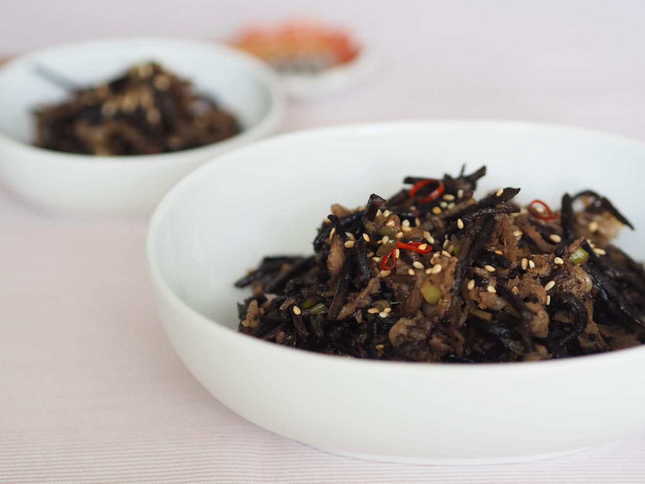 ひじきの韓国風炒め煮