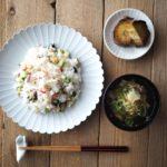 色とりどりの野菜のかやく寿司