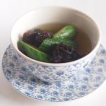 胡瓜ときくらげのスープ