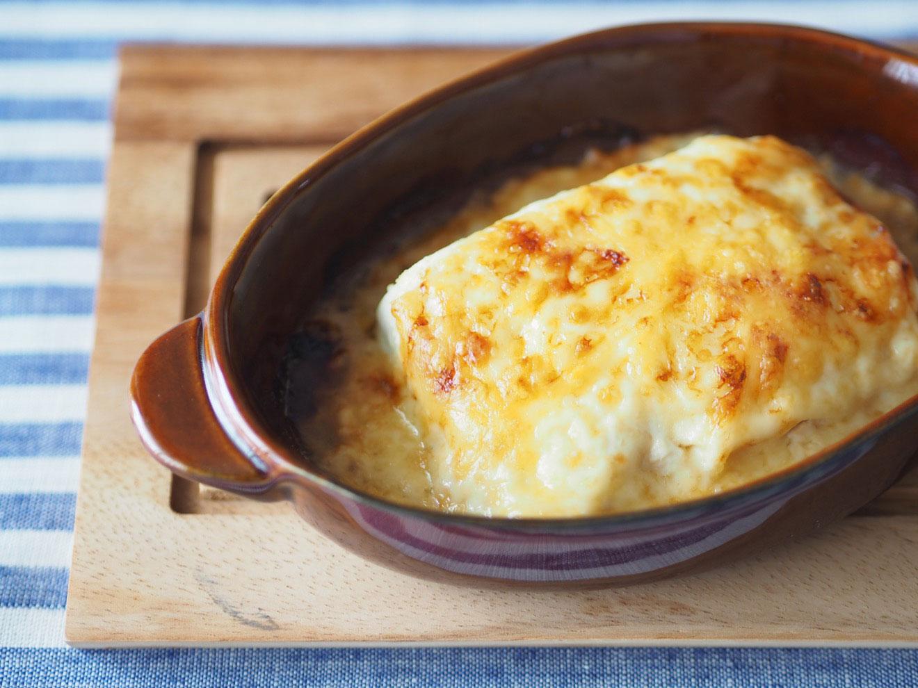 豆腐のチーズグラタン