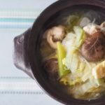 鶏肉と白菜の具沢山スープ鍋